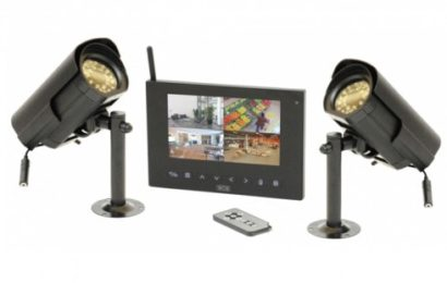 kit video surveillance sans fil